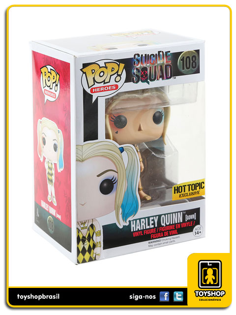 Suicide Squad: Harley Quinn Gown Hot Topic Exclusive Pop - Funko