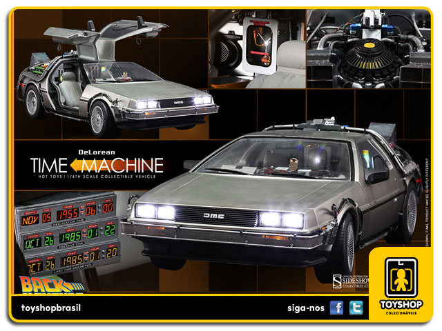 Back to the Future: Delorean 1/6 - Hot Toys