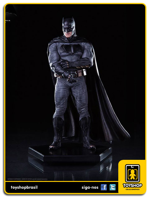 Batman v Superman: Estátua Batman Art Scale 1/10 - Iron Studios