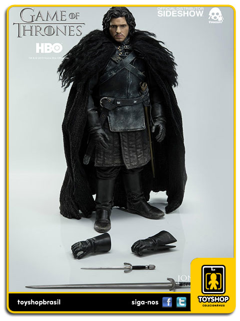 Game of Thrones: Jon Snow 1/6 ThreeA
