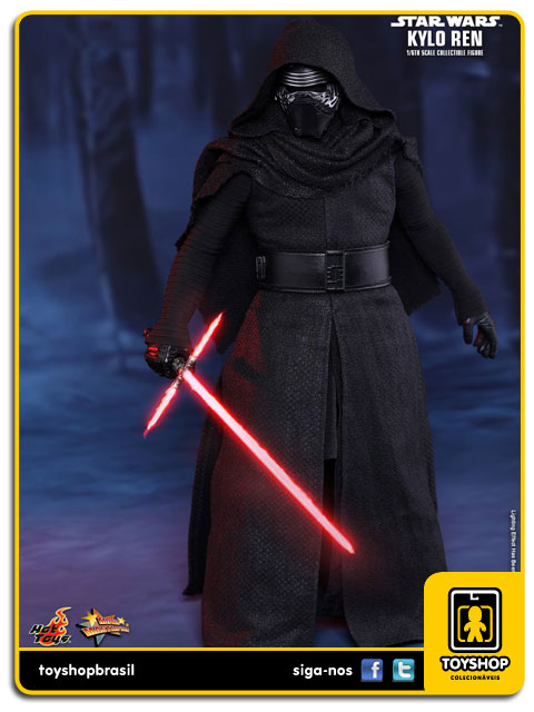 Star Wars The Force Awakens: Kylo Ren 1/6 - Hot Toys
