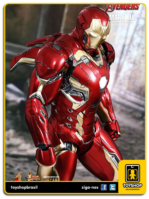Avengers Age of Ultron: Iron Man Mark XLV Diecast 1/6 - Hot Toys