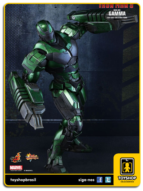 Iron Man 3: Iron Man Mark XXVI Gamma - Hot Toys