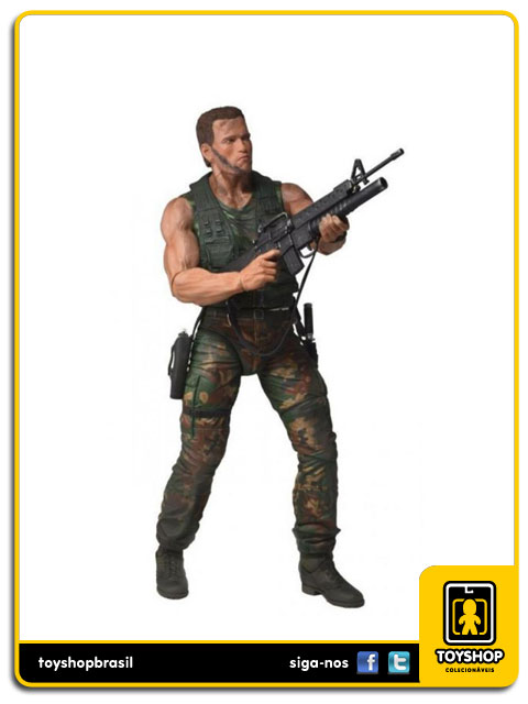 Predator: Jungle Patrol Dutch 1/4 - Neca