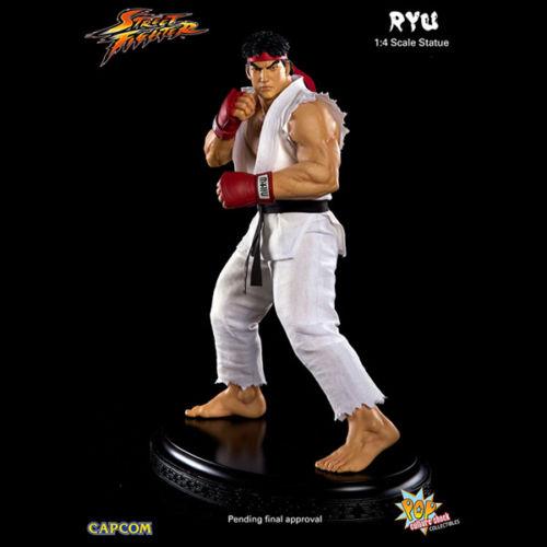 Street Fighter: Estátua Ryu 1/4 - Pop Culture Shock