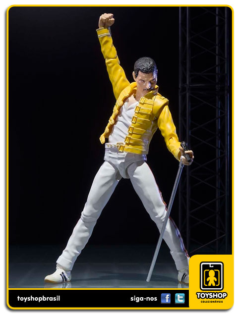 S.H. Figuarts: Freddie Mercury Live At Wembley - Bandai