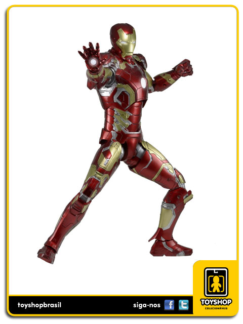 Avengers Age of Ultron: Iron Man Mark XLIII 1/4 - Neca