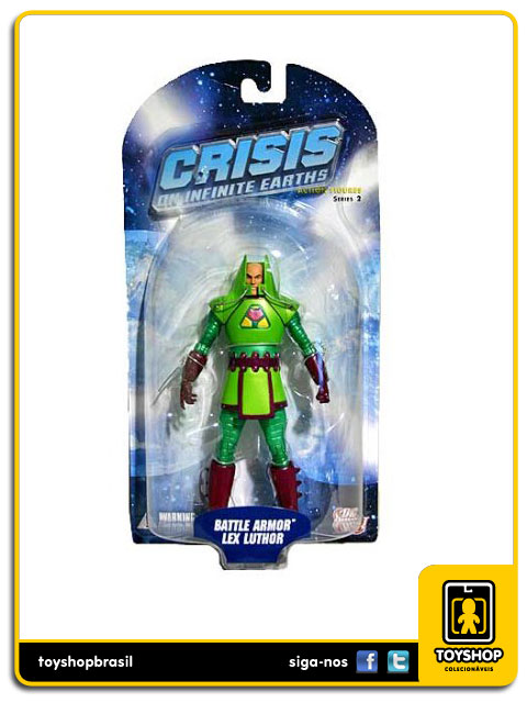 Crisis Infinite Earths: Battle Armor Lex Luthor - Dc Direct