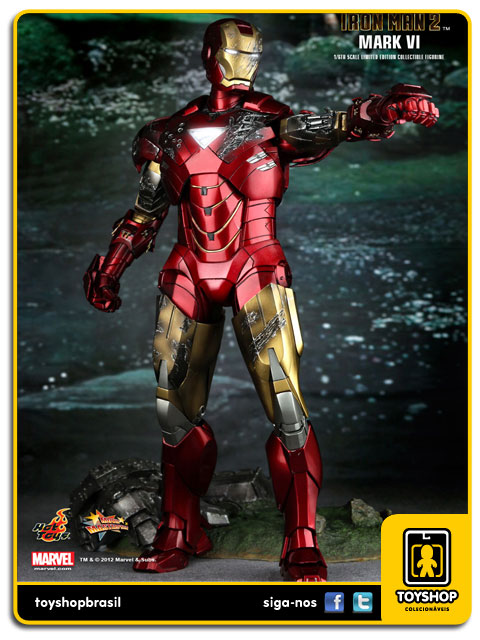 Iron Man 2: Iron Man Mark VI - Hot Toys