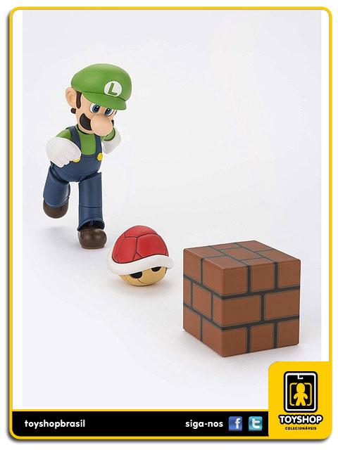 Super Mario Bros S.H. Figuarts Luigi  Bandai
