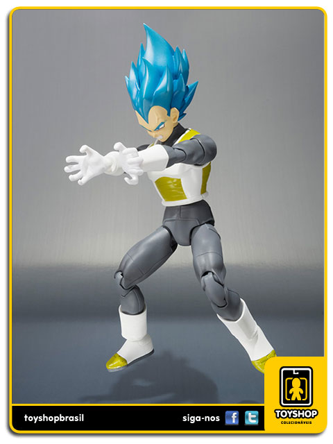 Dragon Ball Z S.H. Figuarts: Super Saiyan Vegeta God - Bandai