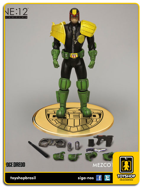 Judge Dredd One 12 - Mezco