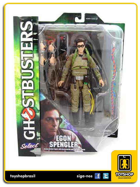 Ghostbusters Egon Spengler Diamond Select