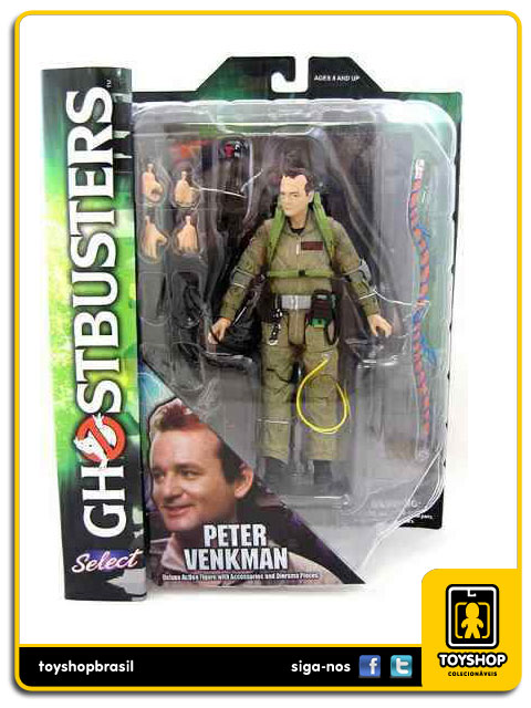 Ghostbusters Peter Venkman  Diamond Select