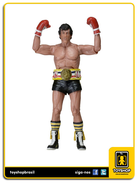 Rocky 3 40th Anniversary: Rocky Balboa With Belt - Neca