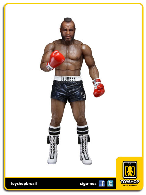 Rocky 3 40th Anniversary: Clubber Lang Black Trunks - Neca