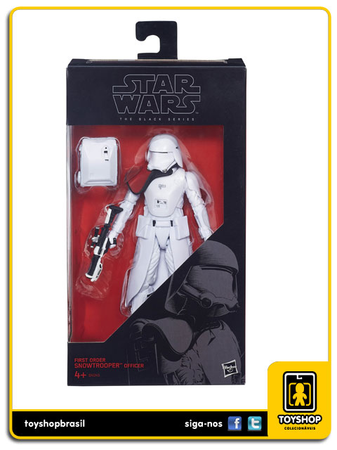 Star Wars The Force Awakens Black Series First Order Snowtrooper  Hasbro
