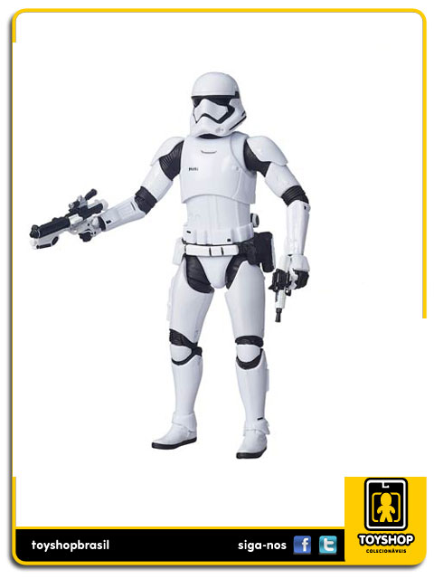 Star Wars The Force Awakens Black Series: First Order Stormtrooper - Hasbro