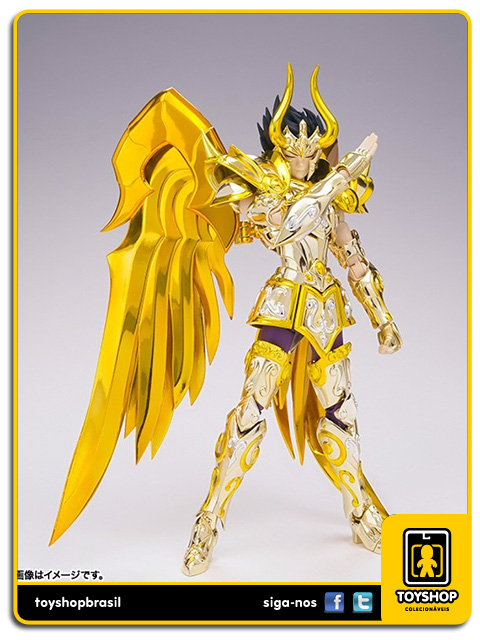 Cavaleiros do Zodíaco Soul of Gold: Shura de Capricórnio EX - Cloth Myth