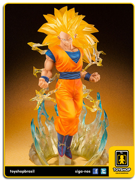 Dragon Ball Z Figuarts Zero: Super Saiyan 3 Son Goku - Bandai