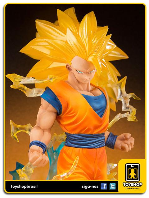 Dragon Ball Z Figuarts Zero: Super Saiyan 3 Son Goku - Bandai