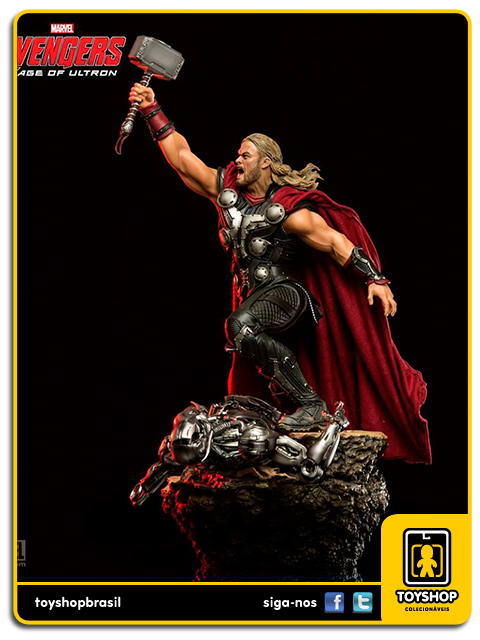 Avengers Age of Ultron: Thor 1/6 Battle Diorama - Iron Studios