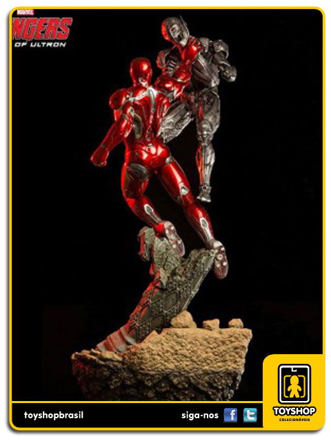 Avengers Age of Ultron: Iron Man Mark XLV 1/6 Battle Diorama - Iron Studios