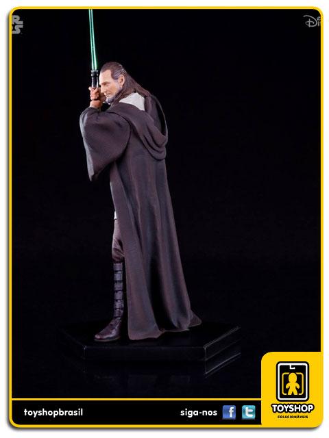 Star Wars: Estátua Qui-Gon Jinn Art Scale 1/10 - Iron Studios
