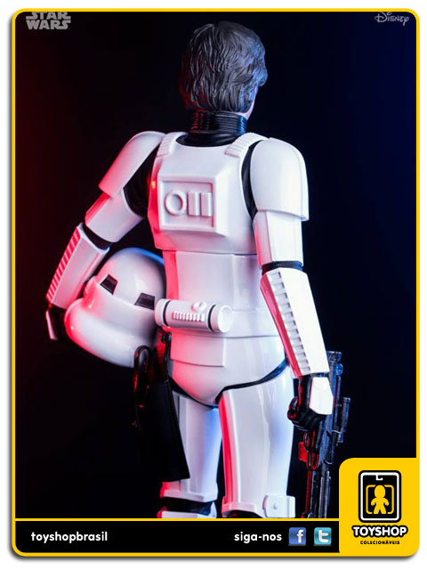 Star Wars:  Star War Han Solo Disguise   Art Scale 1/10 - Iron Studios