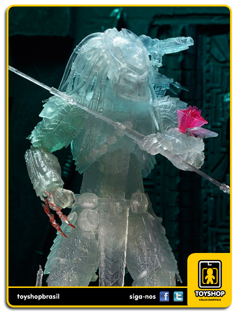 Alien vs Predator: Cloaked Scar with Temple Hologram SDCC - Neca