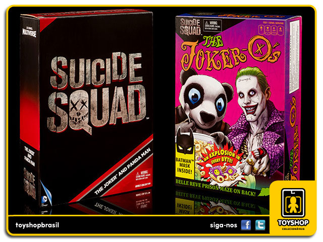 Dc Comics Multiverse Suicide Squad:  The Joker and Panda Man SDCC - Mattel