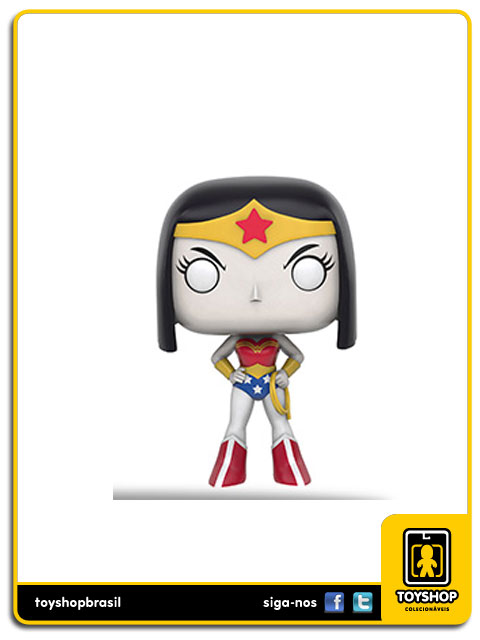 Teen Titans Go: Raven as Wonder Woman Exclusiva Pop - Funko