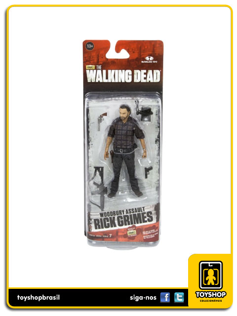 The Walking Dead 7: Rick Grimes Woodbury Assault - Mcfarlane