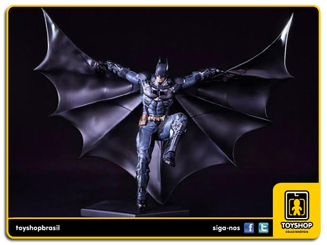 Batman Arkham Knight: Estátua Batman Art Scale 1/10 - Iron Studios