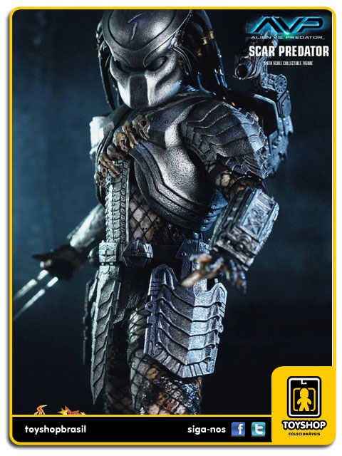 AVP Alien vs Predator: Scar Predator - Hot Toys