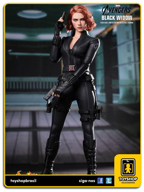 The Avengers: Black Widow- Hot Toys