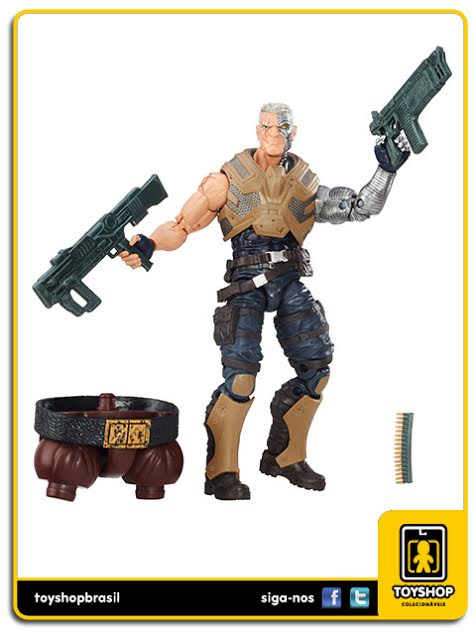 Marvel Legends Juggernaut: Cable - Hasbro