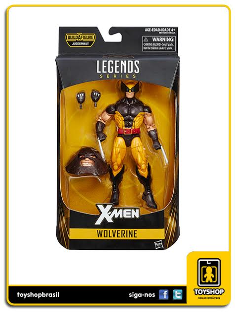 Marvel Legends Juggernaut: Wolverine - Hasbro