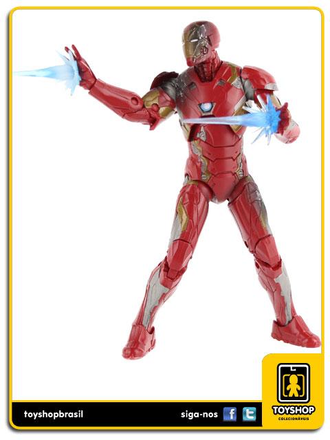 Marvel Legends Captain America Civil War: Spider-man, Captain America & Iron Man Pack 3 Figuras - Hasbro