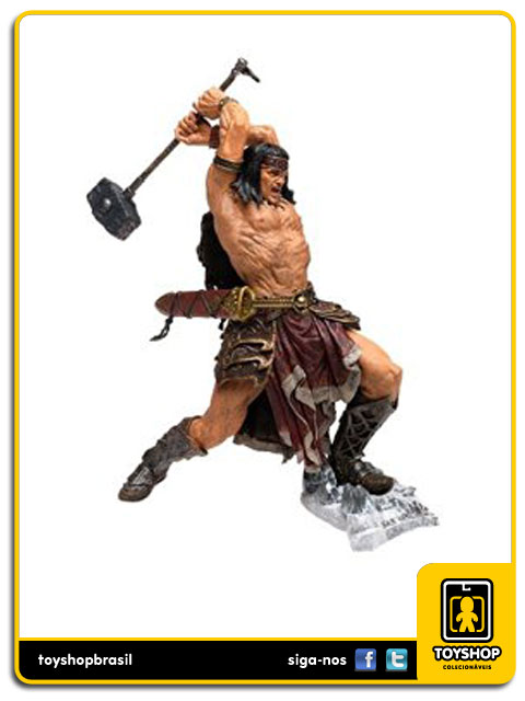 Conan Serie 1: Conan the Indomitable - Mcfarlane
