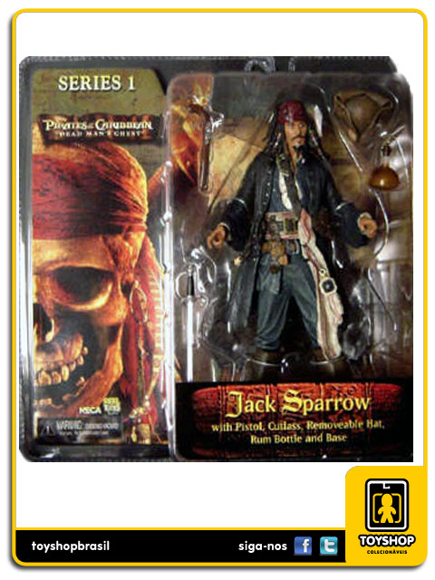 Pirates of the Caribbean:  Jack Sparrow - Neca