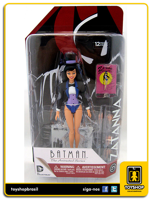 Batman The Animated Series: Zatanna - Dc Collectibles