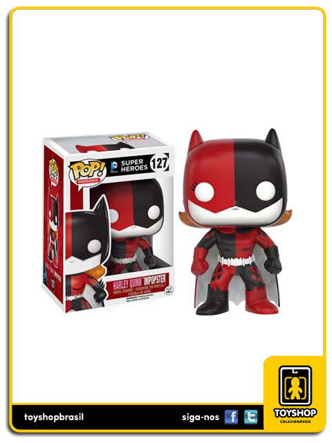 DC Super Heroes: Harley Quinn Impopster Pop - Funko