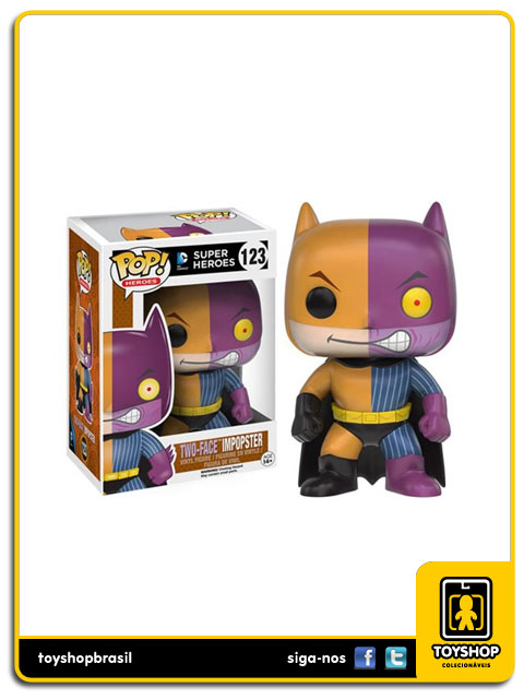 DC Super Heroes: Two-Face Impopster Pop - Funko