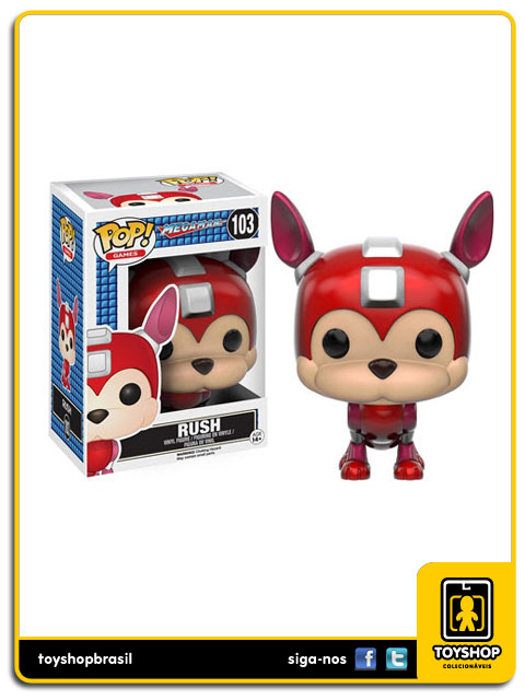 Mega Man: Rush  Pop - Funko