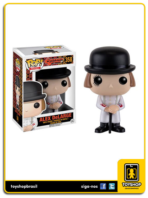 A Clockwork Orange: Alex DeLarge Pop - Funko