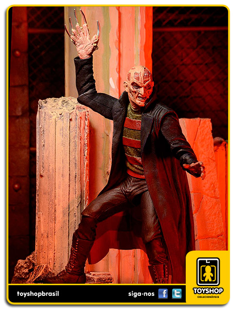 A Nightmare on Elm Street: Freddy Krueger New Nightmare - Neca