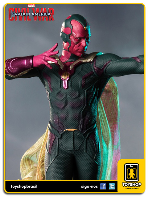Captain America Civil War: Vision Art Scale 1/10 - Iron Studios