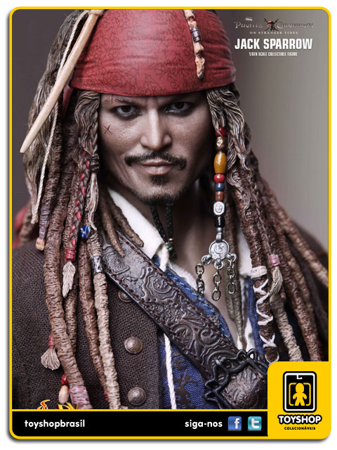 Pirates of the Caribbean: Captain Jack Sparrow 1/6 - Hot Toys