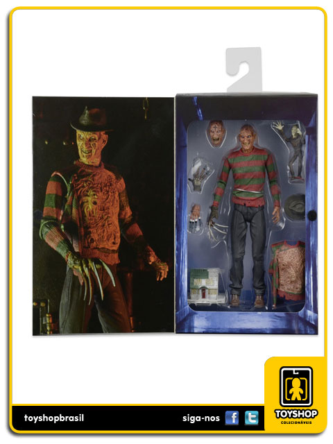 A Nightmare on Elm Street Part 3: Ultimate  Freddy Krueger Dream Warriors - Neca
